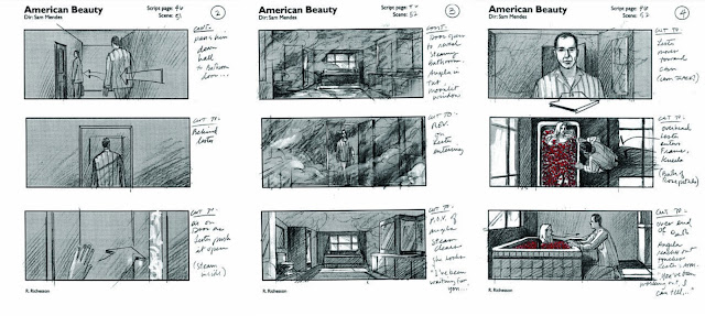 Storyboard - American Beauty
