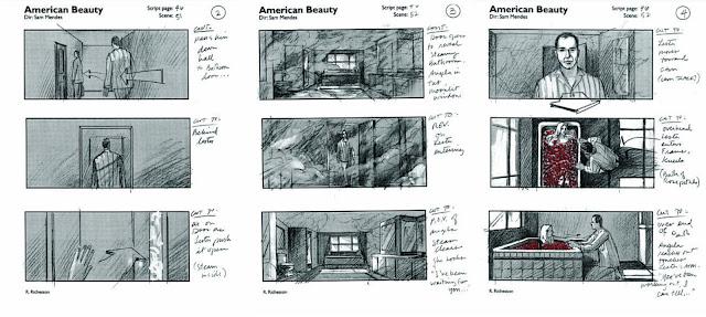 Storyboard - American Beauty