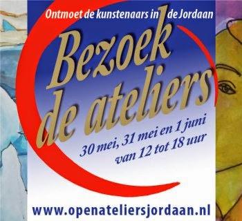 Open Ateliers Jordaan 30 mei t/m 1 juni 2014