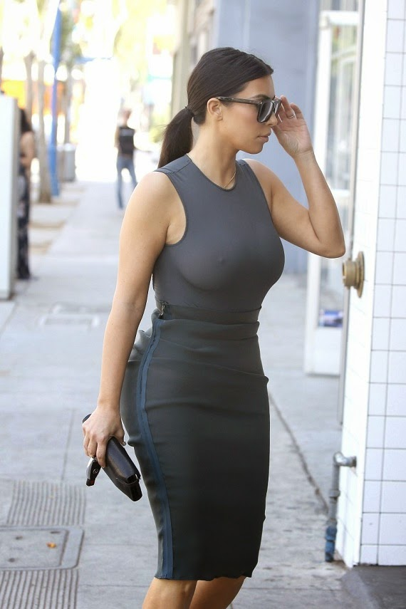 Kim Kardashian Street Style Collection Fashion