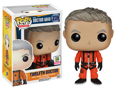 "San Diego Comic-Con 2015 Exclusive Doctor Who ""Spacesuit"" Twelfth Doctor Pop! Television Vinyl Figure by Funko"