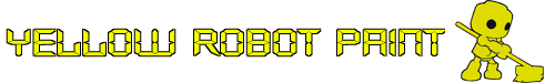 Yellow Robot Paint