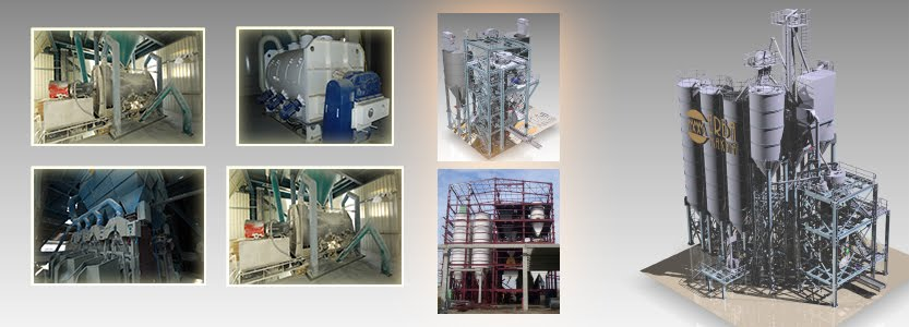 Dry Mortar Production Technology