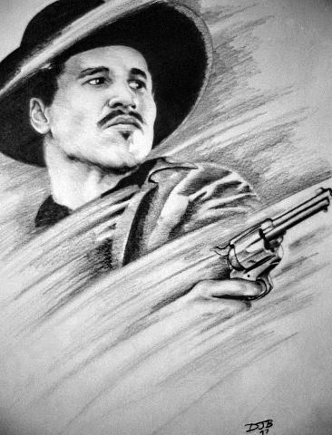 Doc Holliday Val Kilmer Wallpaper Val kilmer plays the role of