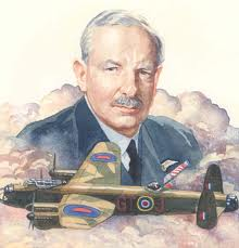 British Bomber Command  headed by Sir Arthur Harris from 1942