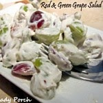 Grape Salad...creamy and crunchy too!