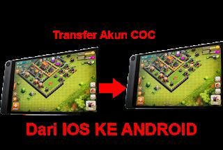 Cara Mudah Memindahkan Akun COC Dari IOS Ke Android Atau Sebaliknya cover