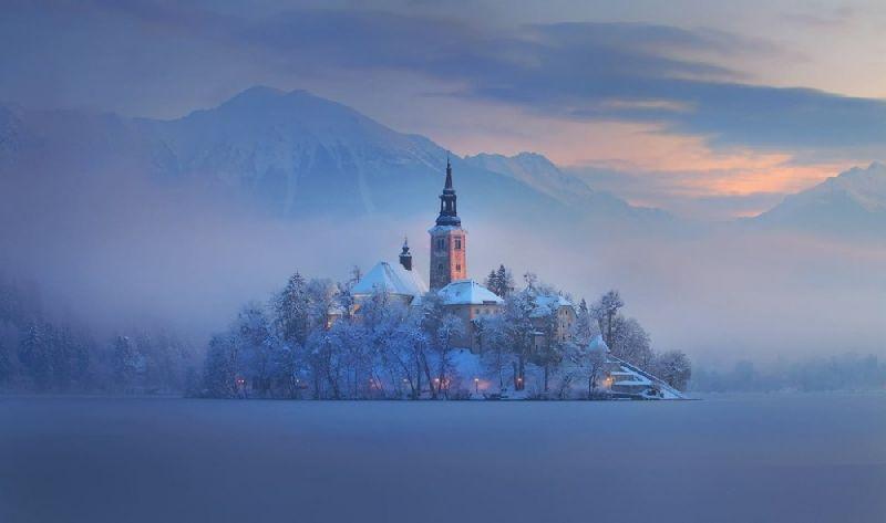 Tiny towns Bled, Slovenia