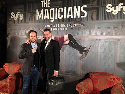 Evento con motivo del preestreno de la serie 'The magicians'