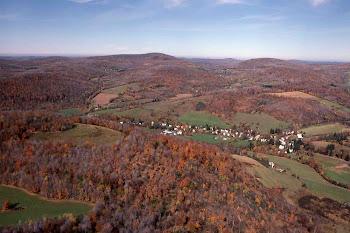 Aerial View of Bovina