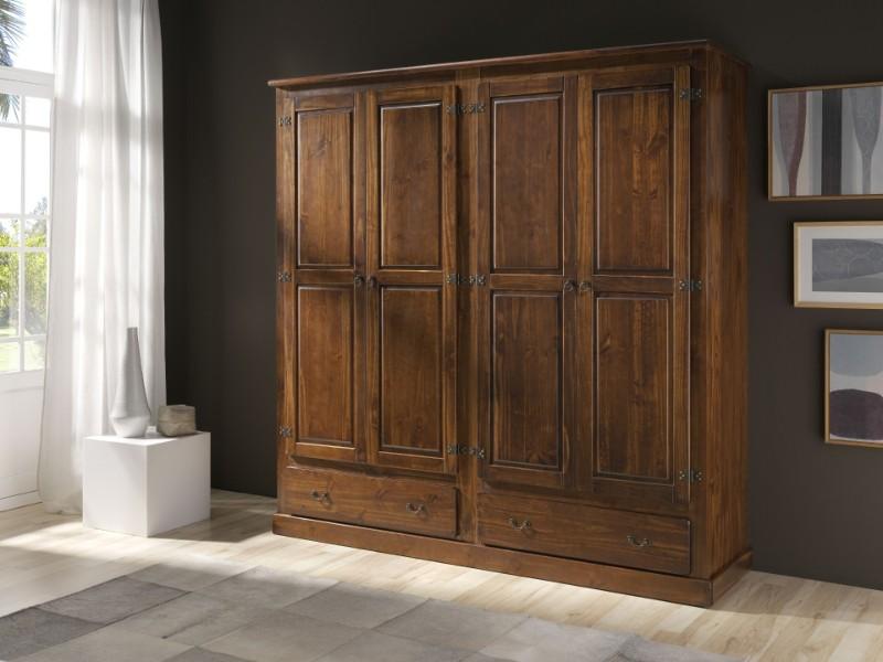 Karruzel del hogar dormitorio rustico for Muebles drago