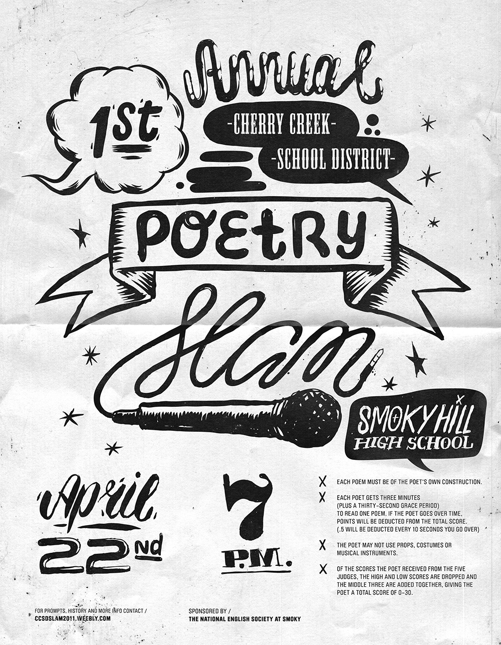 learn how to write slam poetry