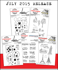 STAMPlorations July Release   -   5 awesome stamp sets now available at 10% OFF until July 17 only!