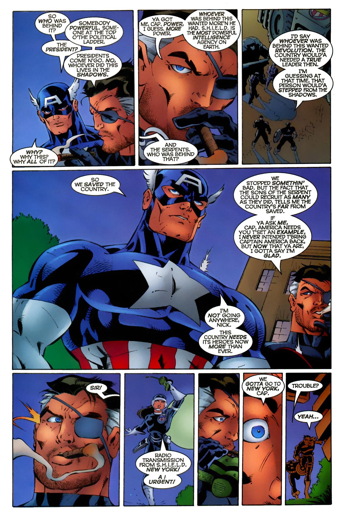 Captain America (1996) Issue #11 #11 - English 21