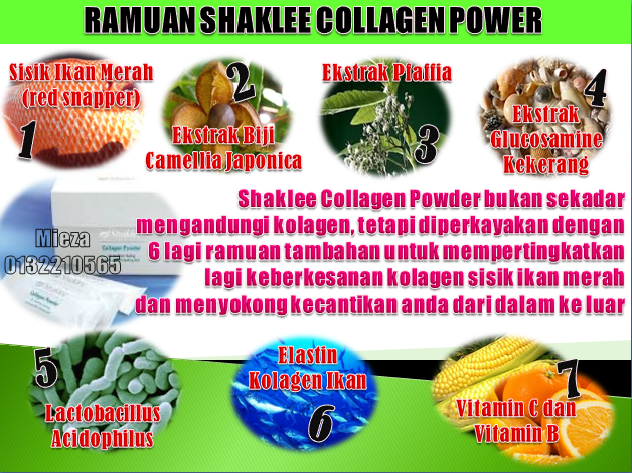 Ramuan Utama Shaklee Collagen Powder