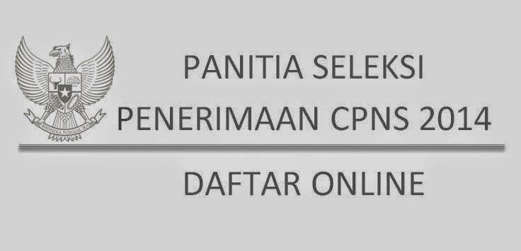 List Website Resmi Pendaftaran Online CPNS 2014