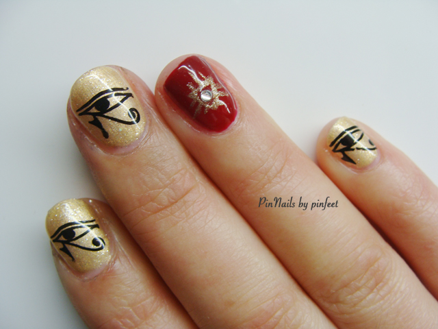 PinNails: Egyptian Nails / Uñas Egipcias
