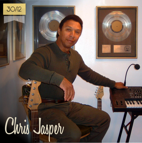 30 de diciembre | Chris Jasper | Info + vídeos