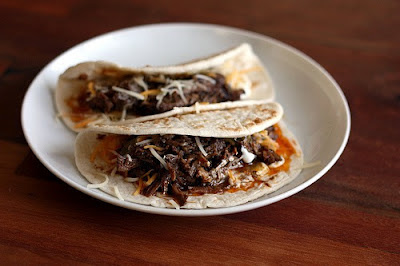 Slow Cooker Shredded Beef for Tacos, Burritos, Nachos, or Tostadas