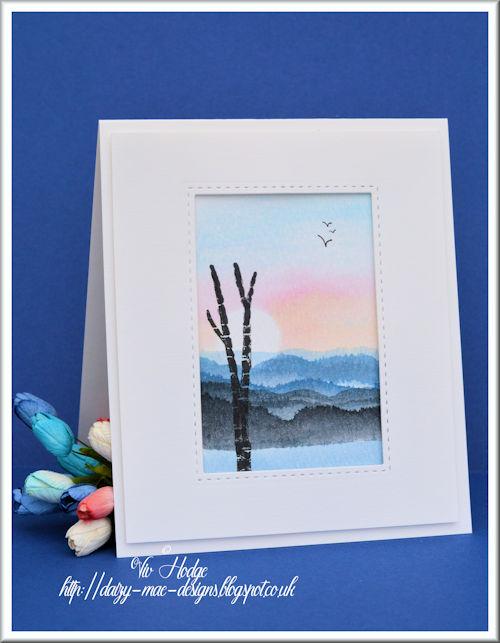 Watercolour, Scene, CAS, LIM