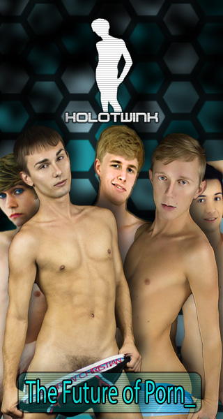 Holo Twink - The Future Of Porn
