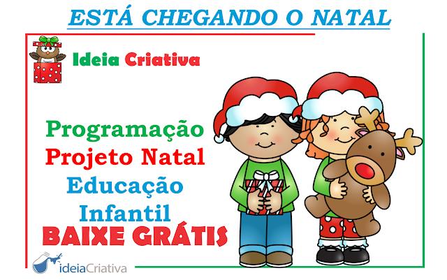 Programação Natalina para Educação Infantil