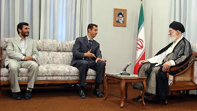 Assad visits Khameini