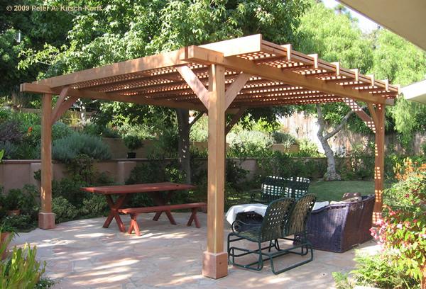 Pergolas design modern garden arbors 2011 for Garden arbor designs