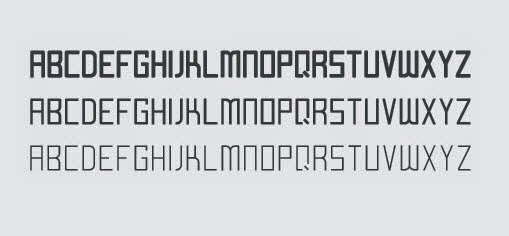 All Caps Form Typeface (.Ai Font)