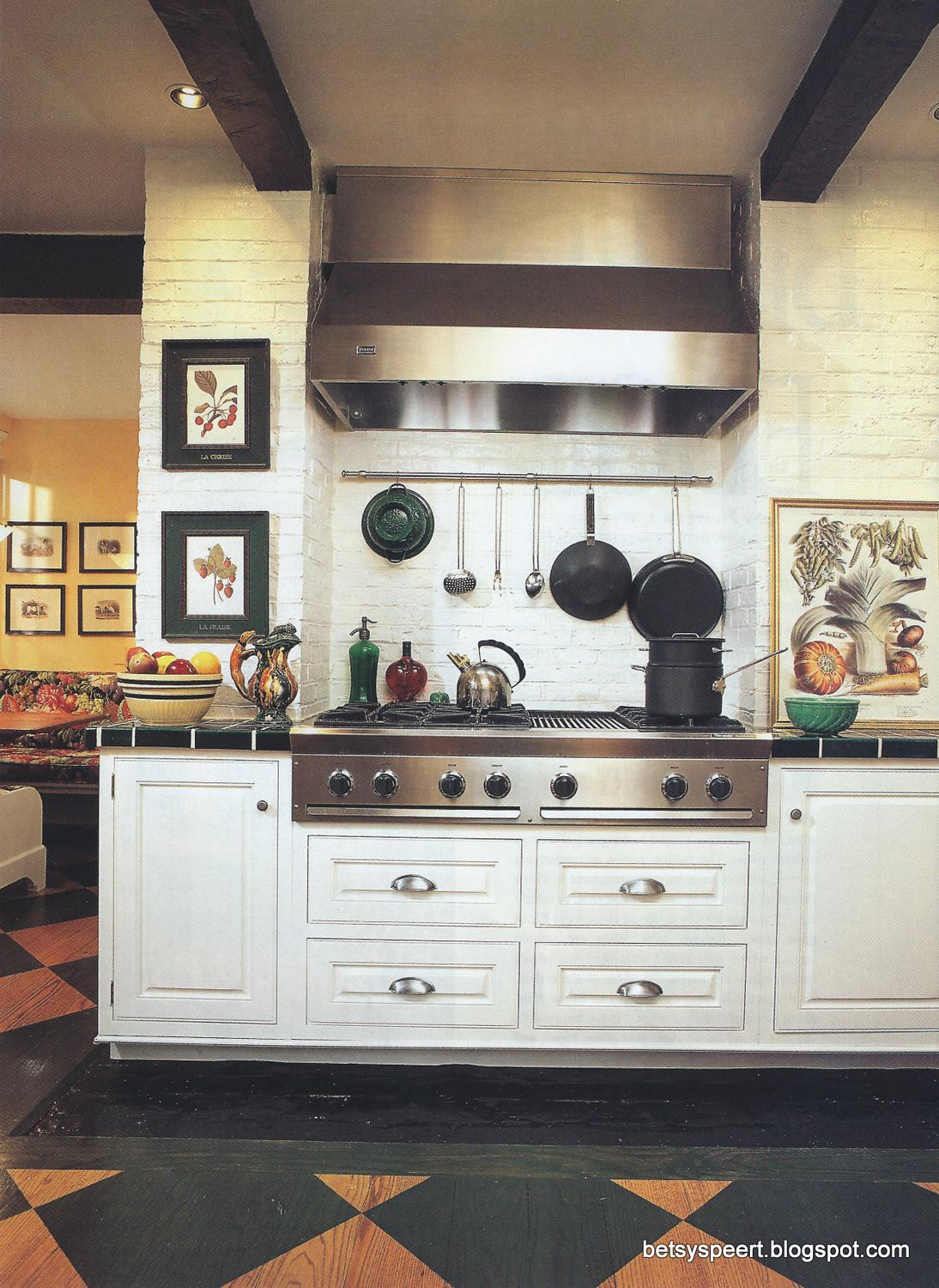 Betsy Speert\'s Blog: An Aeorsmith Kitchen