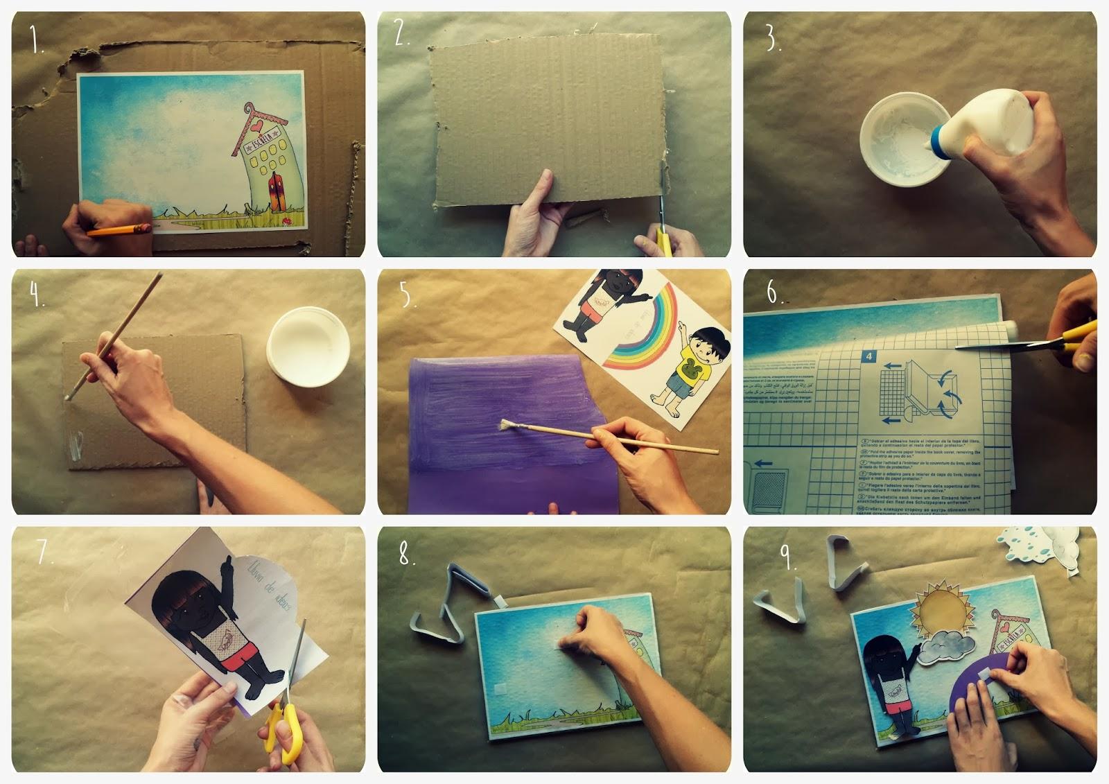 LLUVIA DE IDEAS: Materiales DIY: El panel del tiempo para Educación