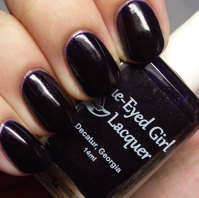 Blue-Eyed Girl Lacquer We Fly With Our Spirit