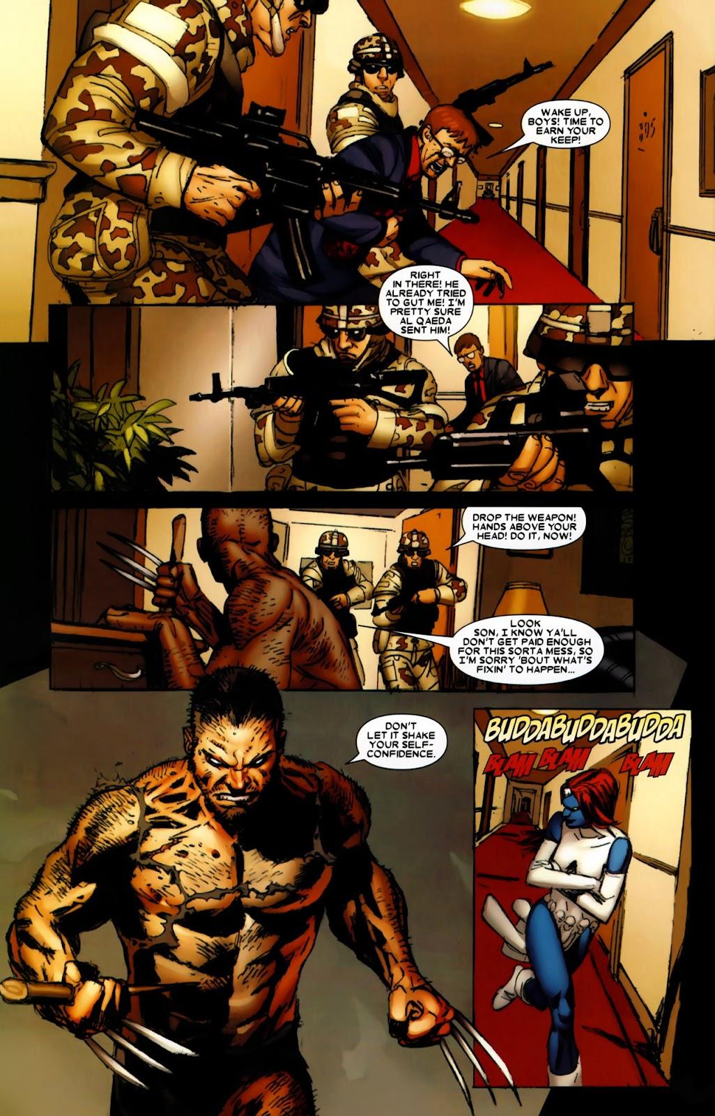 Read online Wolverine (2003) comic -  Issue #64 - 16