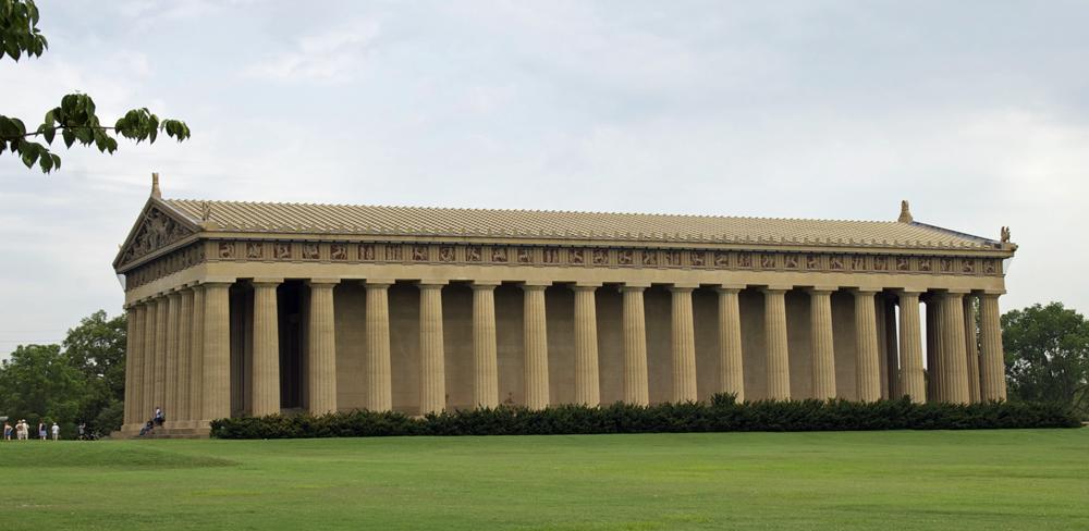 Visiting The Parthenon Sally Ann