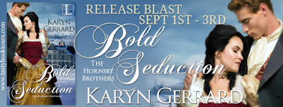 Release Blast & Giveaway: Bold Seduction by Karyn Gerrard