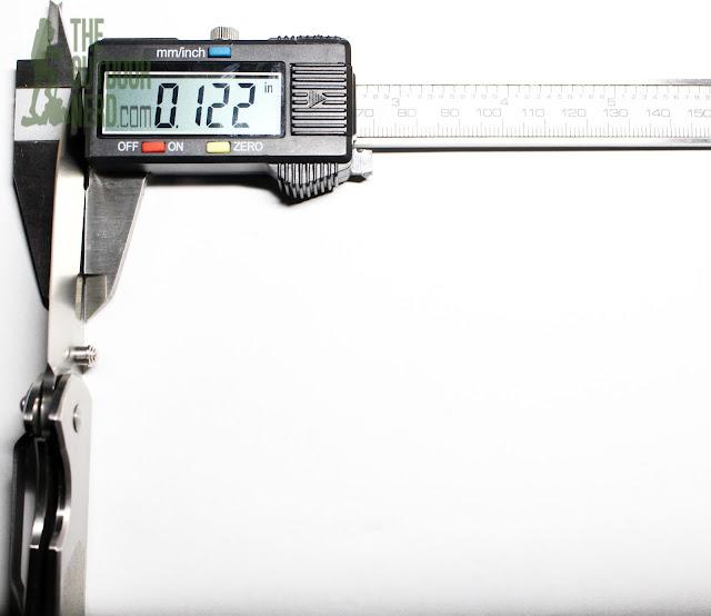 Sanrenmu 7010 EDC Pocket Knife - Calipers 2