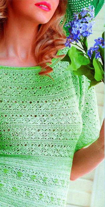 Несколько летних платьев крючком. 82955