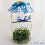 Blue Birds in a Jar