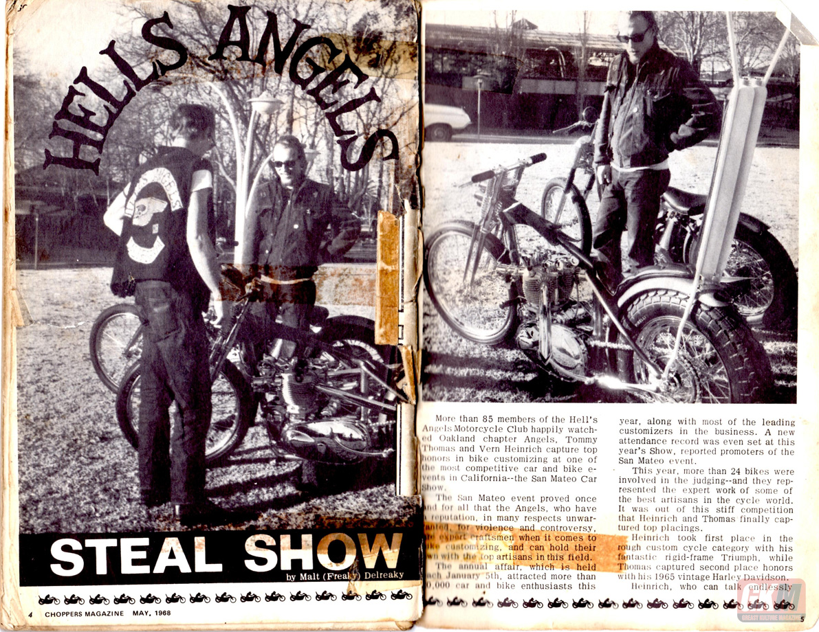 Greasy Kulture  Choppers Magazine May 1968