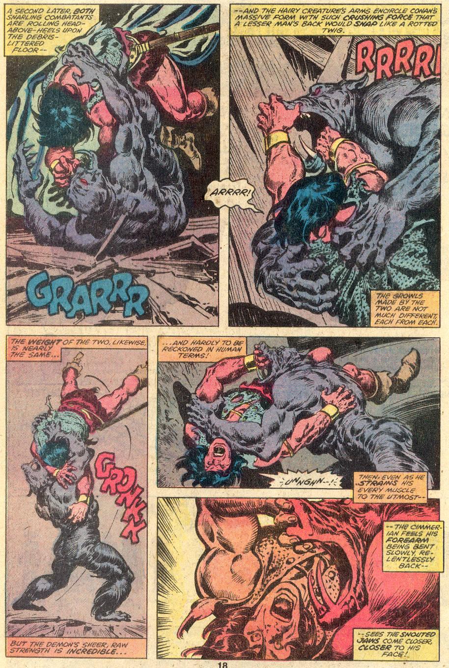 Conan the Barbarian (1970) Issue #107 #119 - English 12
