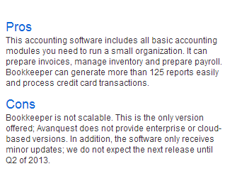 BOOKKEEPER 2013