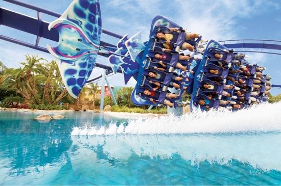 Manta SeaWorld Orlando Parque aquático