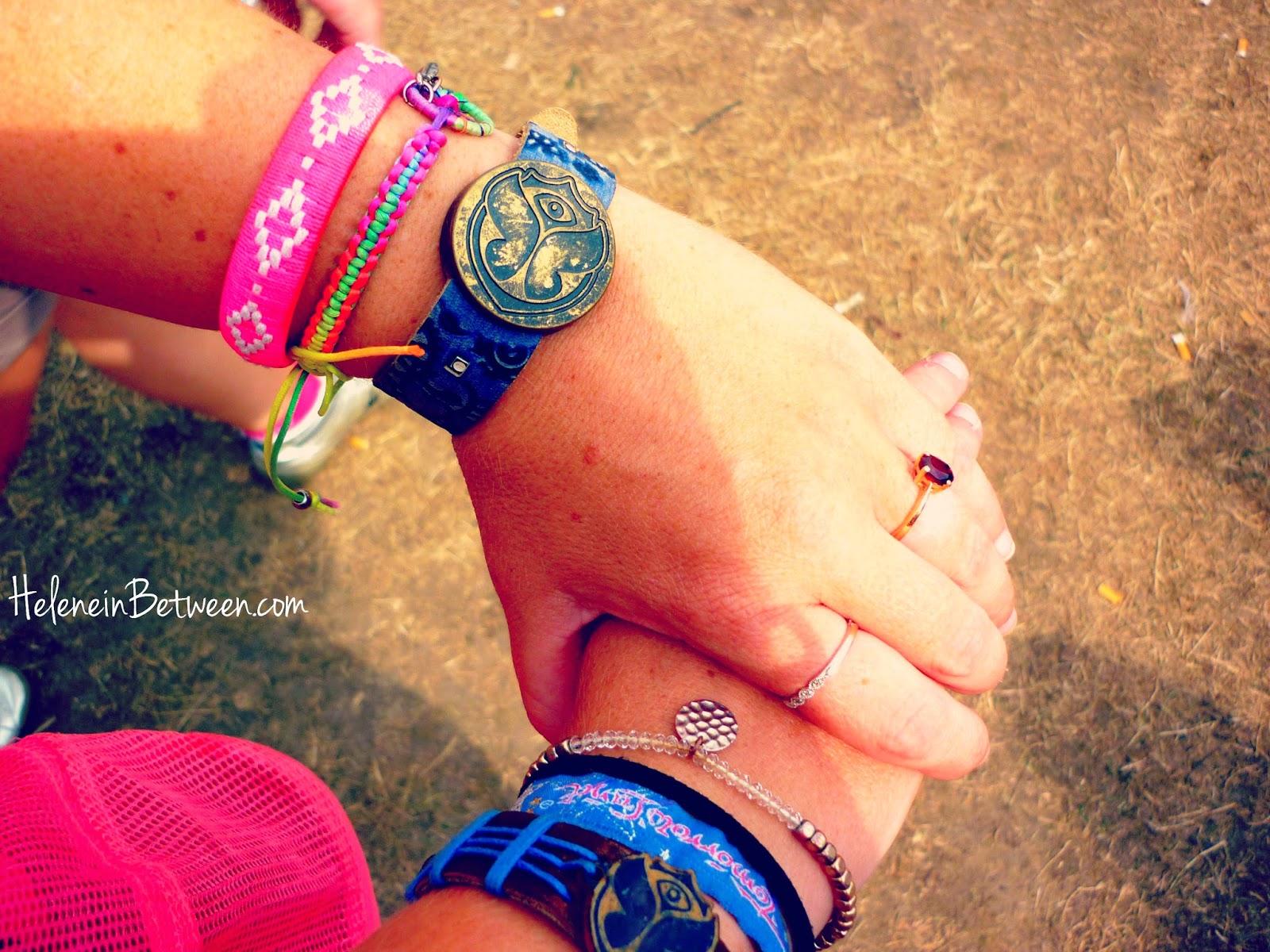 Tomorrowland festival bracelet