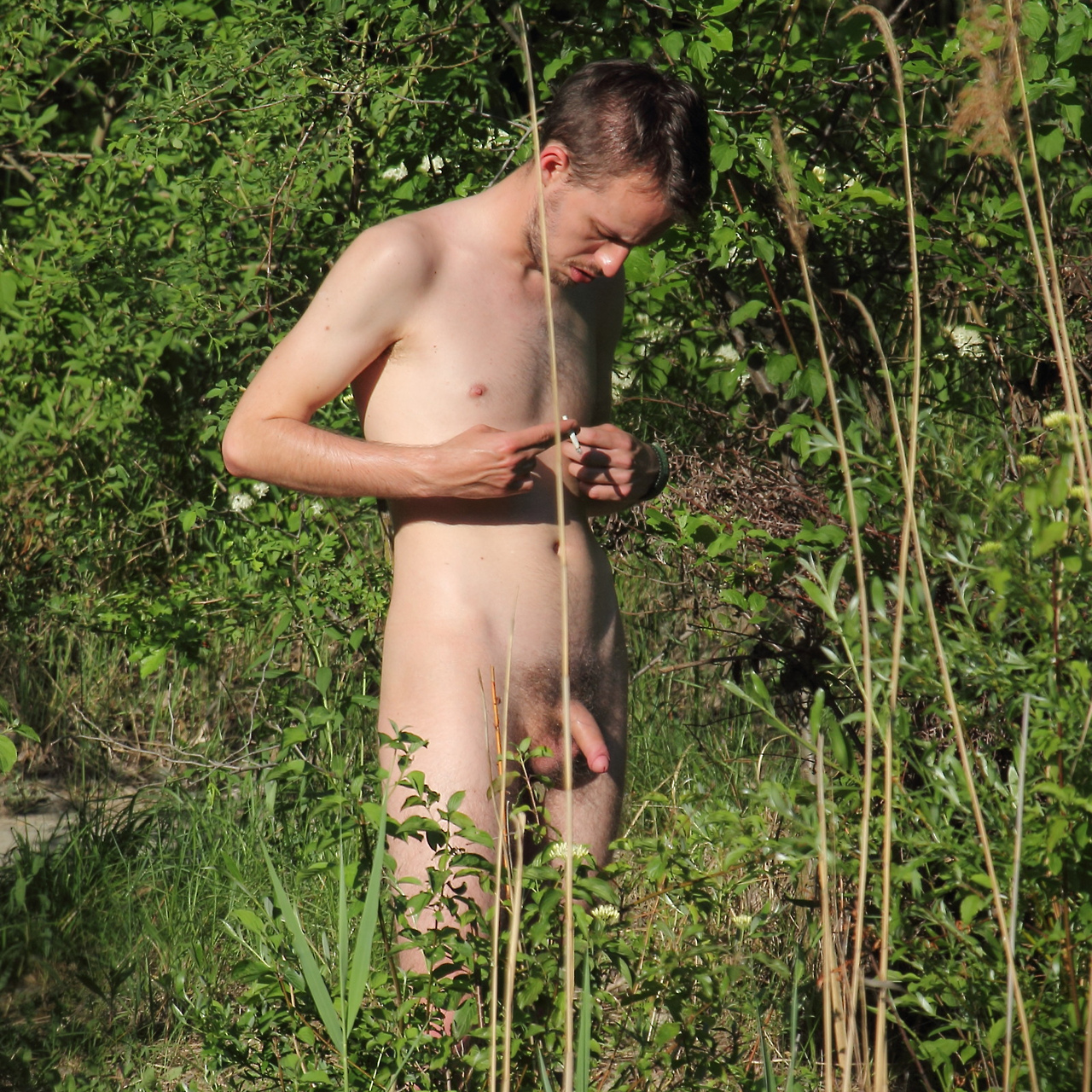 There camping nudist porno video