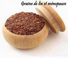 Graine de lin ménopause