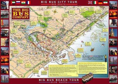 Big Red Tour Bus Los Angeles