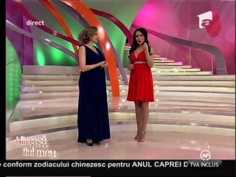 Andreea Mantea prezentatoare Mireasa pentru fiul meu