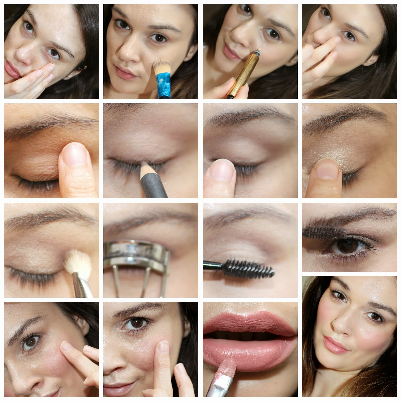 How To Apply Face Makeup Step By Step With Pictures In