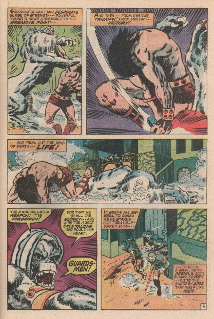 Conan the Barbarian (1970) Issue #2 #14 - English 16