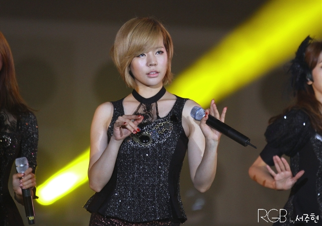 Girls' Generation Sunny at Yeosu World Expo Festival